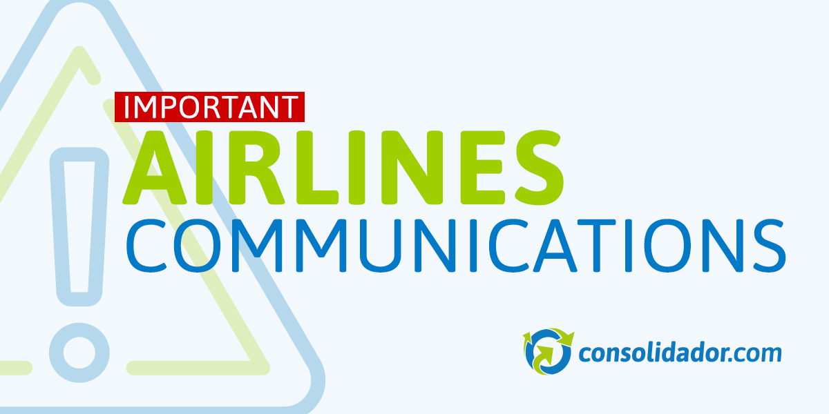 Important Airline Communications